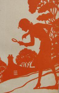 Nancy Drew Silhouette