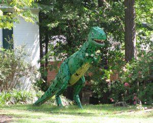 Lizard Man Statue