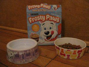 Frosty Paws ice cream
