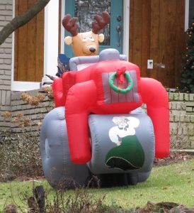 Inflatable Steamroller