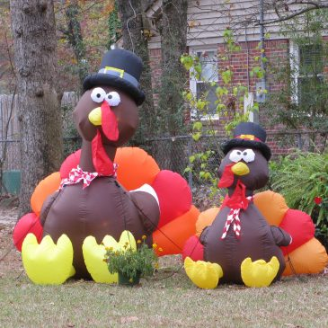 Inflatable Turkeys