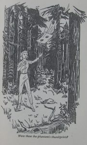 Illustration of phantom thumbprints