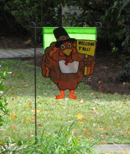 Turkey Yard Flag