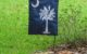 Blue Palmetto Yard Flag