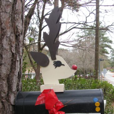 Reindeer Mailboxes