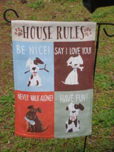 Dog Rules Flag