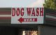 Dog Wash Sign