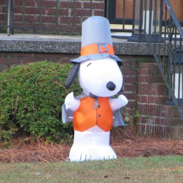 Snoopy the Pilgrim