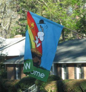 Snoopy St. Patrick's Day Flag