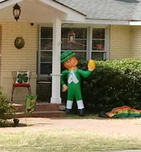 Inflatable Leprechaun