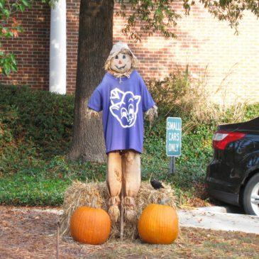 Thanksgiving Scarecrows