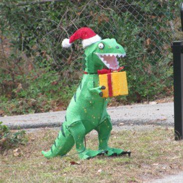 Lizard Man Santa