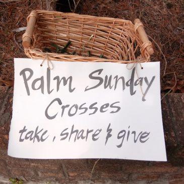 A Palm Sunday Stroll